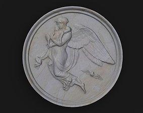 Medallion Thorvaldsen 3D asset