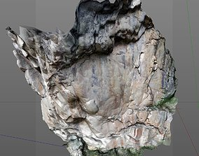 3D Scanned Rock and Cliff face 002