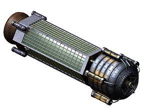 3D model Satellite-Spaceship-Xingxu 02