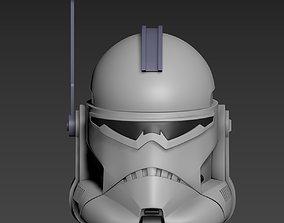 3D printable model Star Wars Clone Commander Wolffe 2