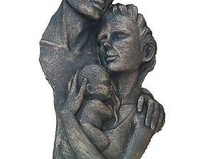 3D printable model Family Sculpture