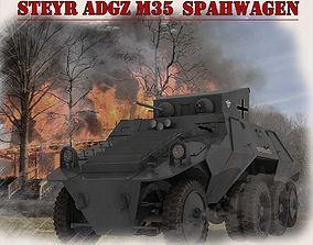 3D Steyr Adgz Spahwagen M35