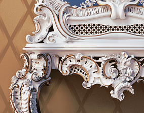 3D model Jumbo Collection Baroque Mirror Table