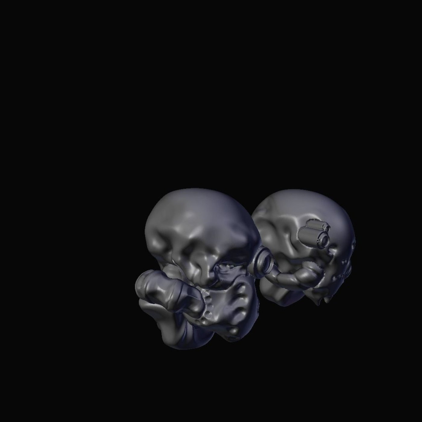 Team Invictus - 28mm Miniature Printable Heads