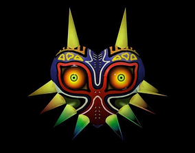 3D printable model Mask from Zelda Majoras mask