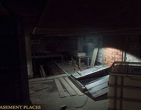 Urban Basement Places 3D model