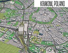 Krakow Poland 3D model