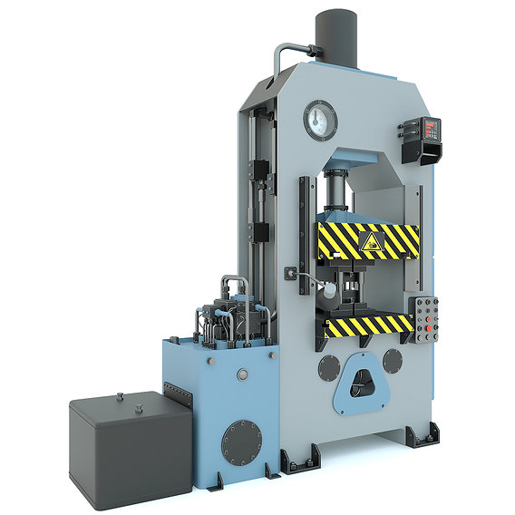 Industrial machine tool hydraulic press P474