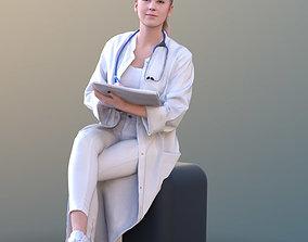 Elena 10683 - Sitting Doctor 3D asset