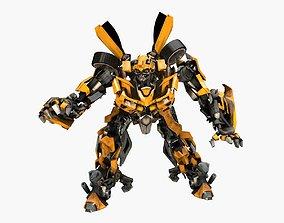 Bumblebee 3D model animated