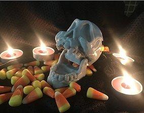 Articulated skull 3D print model