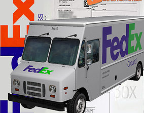 Morgan Olson FedEx 3D asset