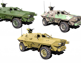 3D model Armored Personnel Carrier