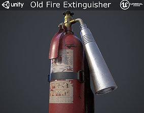 Old Fire Extinguisher 3D model