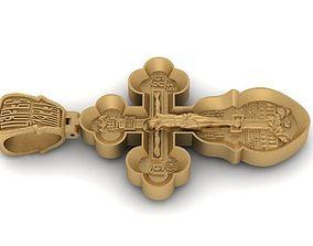 3D printable model Russian Orthodox cross