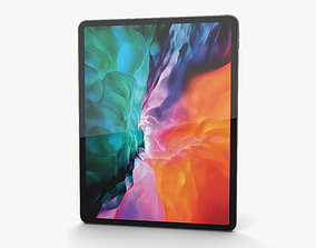Apple iPad Pro 12-9-inch 2020 Space Gray 3D model