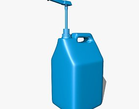 3D Blue Canister with Doser
