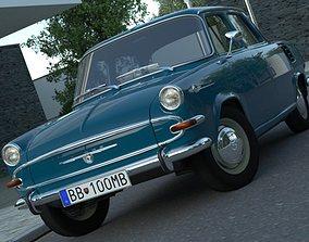 Skoda 1000MB 1965 3D