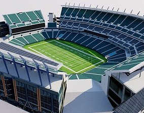 3D asset Lincoln Financial Field - Philadelphia