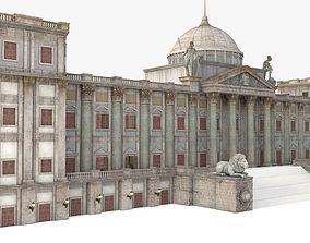 European Renaissance palace 3D