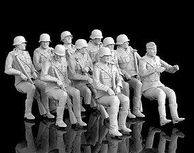 German soldiers 3D printable model