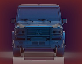 3D printable model Mersedes Benz G500