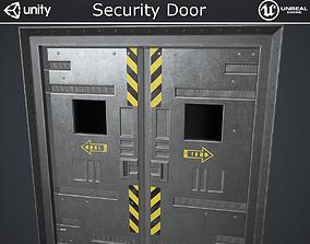 Security Doors 3D model