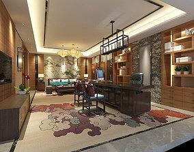 3D model boss manager office 11