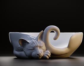 Plate cat 3D print model