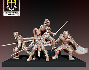 3D print model PACK DARK KNIGHTS
