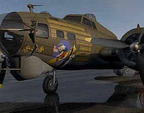 Boeing B-17G Fortress 3D model