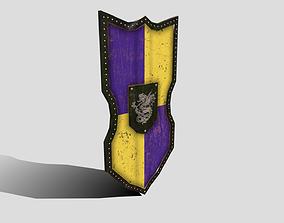 Medieval Shield 3D model realtime