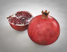 3D asset Pomegranate