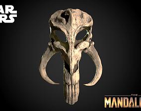 Mythosaur Skull Pendant - Mandalorian Symbol Ready for 1
