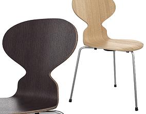 3D The Ant Chair by Arne Jacobsen Fritz Hansen