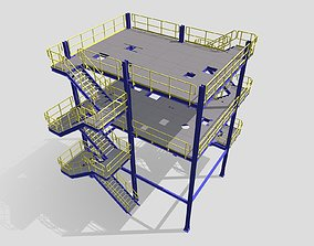 3D print model Process Plant UAE - Steel