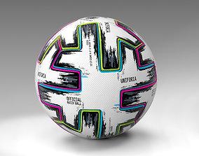Uniforia Official Euro 2020 Match Ball 3D model