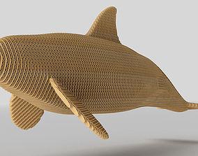 3D model Grampus Cardboard