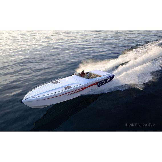 Black Thunder Boat