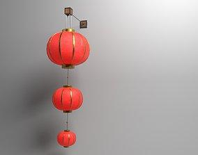 Traditional Chinese Lantern 3D asset