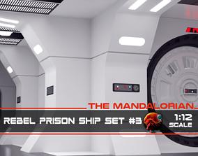 3D print model The Mandalorian - Rebel Prison Ship 3 - 3