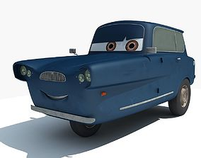 Cars 2 Movie - Tomber 3D model