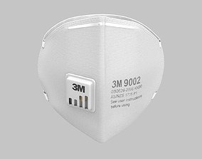 3M Protective Mask 3D model
