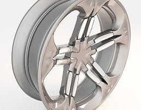 3D asset rigged VR / AR ready Wheel