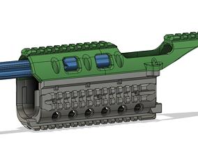 3D print model Airsoft Strikeball HANDGUARD for AK 74 105