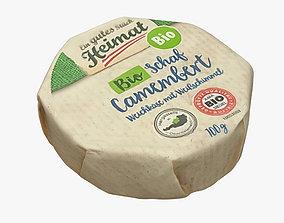 3D model Camembert Cheese