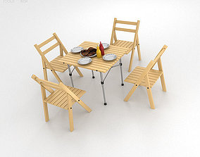 3D model Barbecue Table