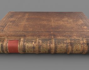antique Old book 3D asset realtime