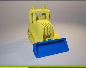 3D Toy Bulldozer