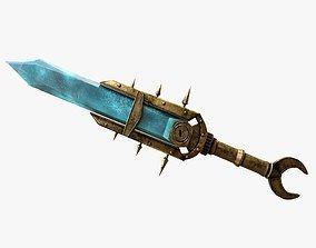 3D asset Keening Dagger